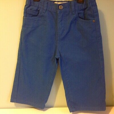 Boys Royal Blue Thick Cotton Shorts Denim Co Age 8-9 Years