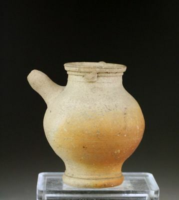 *Sc* Rare Hellenistic / Early Roman Pottery 'Baby Bottle', 200 Bc - 100 Ad