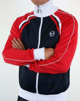 069097bc SERGIO TACCHINI FRENCH Terry Blue & Red Tracksuit Track Jacket Pants ...