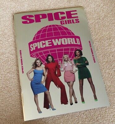 Spice Girls Spice World 2019 Programme