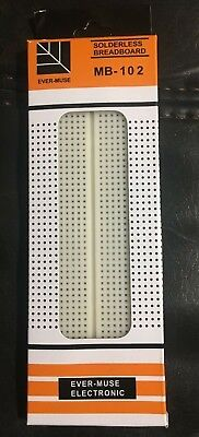 3 Ever-Muse Solderless Breadboards MB-102 Ever-Muse Electronic (3 Boards)