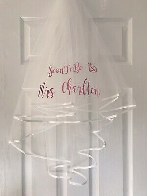 Hen Party Veil Personalised
