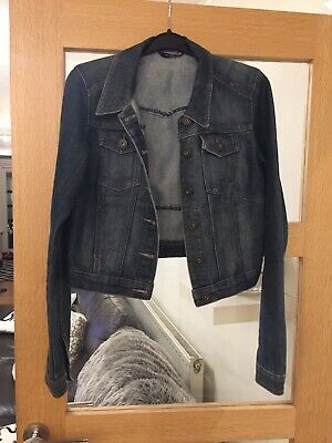 ce7ae4f68163d DARK BLUE DENIM Jacket Size 10 George At Asda - £6.00 | PicClick UK