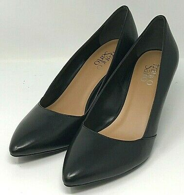 70b3f9af53 Franco Sarto Frankie Black Wedge Women's Size 9M NEW! Fast Free Shipping!