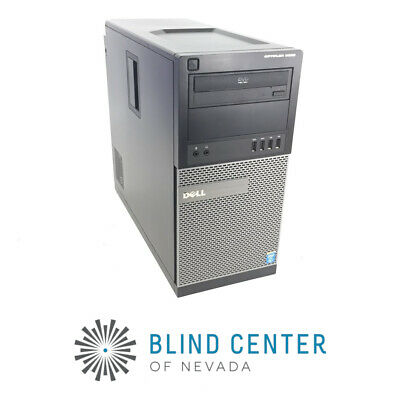 Dell OptiPlex 9020 Tower i5-4590 3.3GHz 250GB HDD 8GB DDR3 Win 10 PRO 1fk6r52