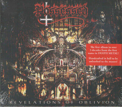 Possessed ‎- Revelations Of Oblivion CD - SEALED - New 2019 Death Metal Album