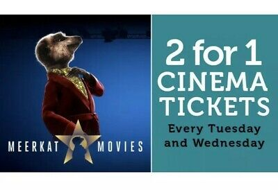 2 For 1 Meerkat Movies Cinema Code