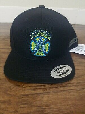 official photos 96d54 38906 Hurley Julian Wilson Hat Snapback Toledo Team Pro Scorpion Black New  32  BV7730
