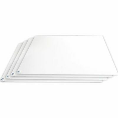 """CONDOR 30CM60 White Tacky Mat Replacement Pads 24"""" W x 30"""" L"""