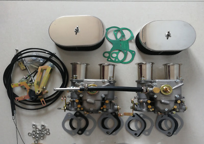 TWIN fajs carb kit 45dcoe 45 DCOE CARBURETTOR FOR VOLVO B18/B20 rep. weber kit