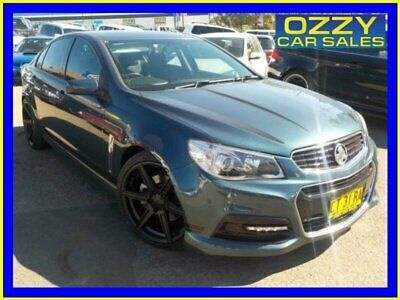 2014 Holden Commodore VF SS Blue Automatic 6sp A Sedan