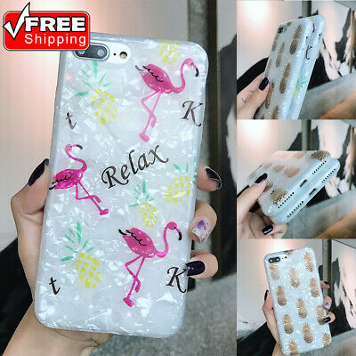Fashion Pineapple Pattern Shockproof Non-slip Soft TPU Phone Case For iPhone Lot