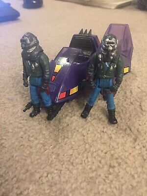 M.A.S.K. Toys Piranha with two Sly Rax both with short masks