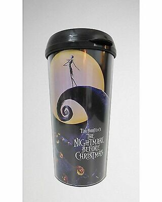 Nightmare Before Christmas Plastic Travel Mug