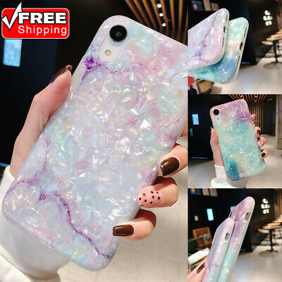Fashion Shell Grain Cover Shockproof Non-slip Soft TPU Phone Case For iPhone Lot