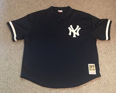 20ee341f MLB Mitchell And Ness Jersey New York Yankees Don Mattingly BP Jersey Size  56