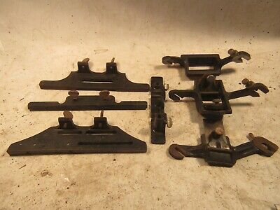 VINTAGE 7 PIECES STANLEY No.193 ATTACHMENTS MADE IN USA