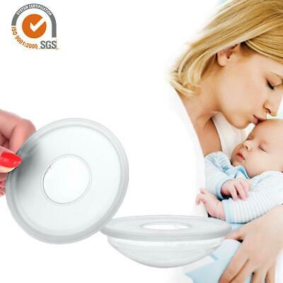 2 PCS Breast Milk Collection Shell Portable Breast Saver for Daily Working Moms