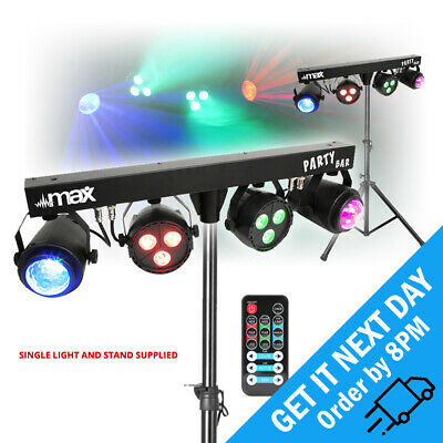 Max PARTYBAR Par Can Jellymoon DMX DJ LED Bar Light Effects with Stand