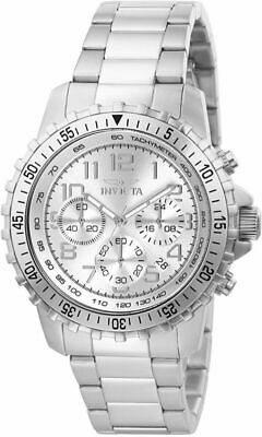 Invicta Men's 6620 II Collection Chronograph Stainless Steel Silver Dial...