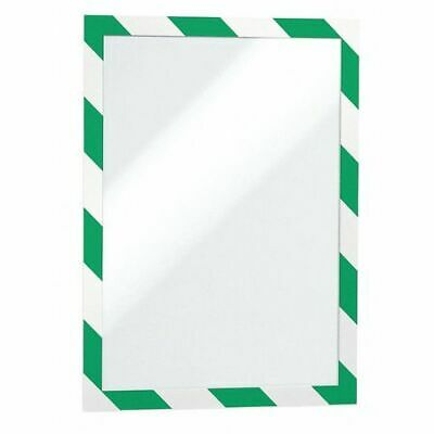 "DURABLE 4770131 Sign Holder,8-1/2"" x 11"",PVC,PK2"