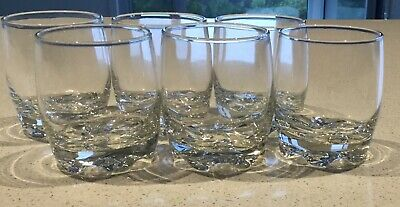 6 X Whisky Tumblers - Small Glasses