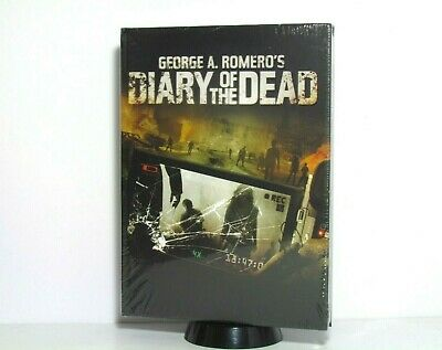 Diary Of The Dead George Romero Blu-Ray Mediabook Edition Numbered Import New