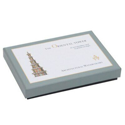 Architectural Watercolors The Oriental Tower Correspondence Cards