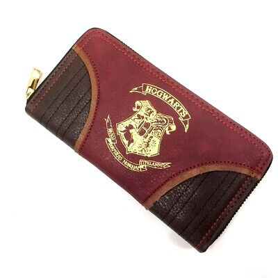 Harry Potter Wallet Hogwarts school badge Short Bifold Pu Purse Long wallet