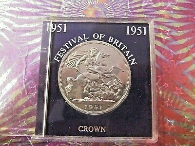 superb  1951  !!  festival of britain  !!  crown . er11   very nice