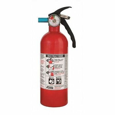 KIDDE 21007077MTL Fire Extinguisher, 5B:C, Dry Chemical, 2 lb.