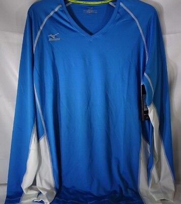 47794f5adf0b Mizuno Womens Volleyball Apparel Elite 9 Classic Newport Long Sleeve Jersey  T2