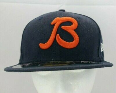 9e6322a0ea57ce NFL Chicago Bears B New Era 59Fifty On Field Navy Blue Orange Fitted Hat TF