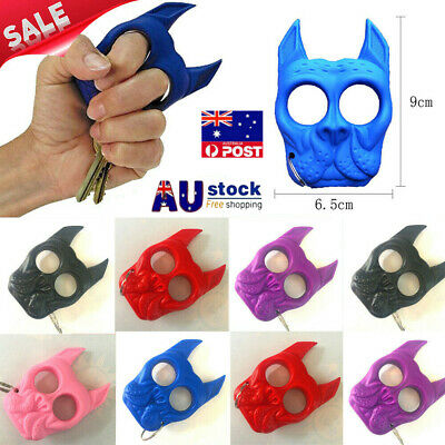 Plastic Dog Self Defense Tools Gift Portable Key Chain Outdoor Travel Safe Women