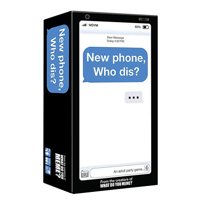 New Phone Who Dis Card Game NEW PREORDER 11/12