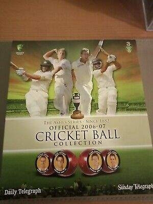 The Ashes Series Official 2006-07 Cricket Ball Collection