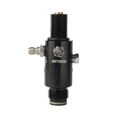 4500psi High Pressure PCP Paintball Air Tank Valve Regulator M18x1.5 For Diving