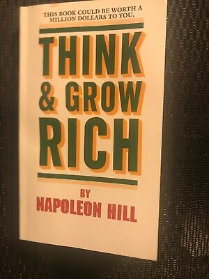 Classic Edition Of Think and Grow Rich book by Napoleon Hill a paperback book