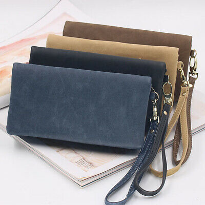 1xWomen Lady Clutch Leather Wallet Long Card Holder Phone bag Case Purse Handbag