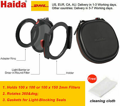 Haida M10 Filter Holder Kit with 82mm Adapter Ring & drop-in CPL