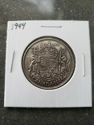 Canada 1944 Silver 50 Cents