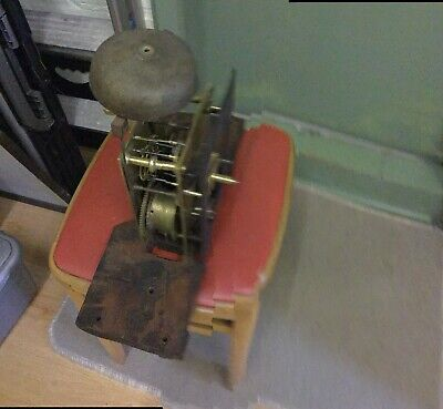 8 Daylongcase Clock Movement For Spares Repair