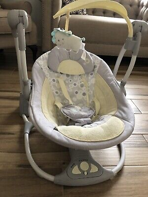 Bright Stars Ingenuity Portable Baby Swing Rocker