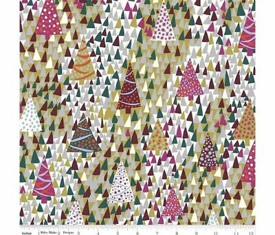 Liberty of London Seasons Greetings Sparkling Forest  LF04775666Y Patchwork Quil