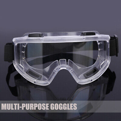 1pc Clear Lens Protective Safety Glasses Eye Protection Goggles Outdoor Work Lab