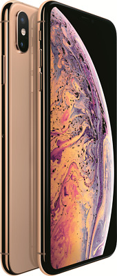 "Apple iPhone XS Max gold 256GB LTE iOS Smartphone 6,5"" OLED Display 12MPX eSim"
