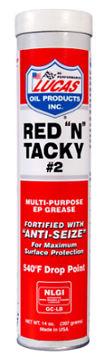 Lucas Red N Tacky Multipurpose EP Grease - anti-seize - 10005C
