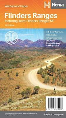 Hema Flinders Ranges Map *FREE SHIPPING - NEW*