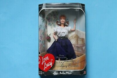 2000 Mattel Barbie I Love Lucy Doll - Lucy's Italian Movie Episode 150 NEW
