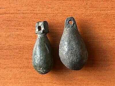 Lot of 2 Ancient Roman Bronze Military Pendants Circa 100-300 AD Very Rare